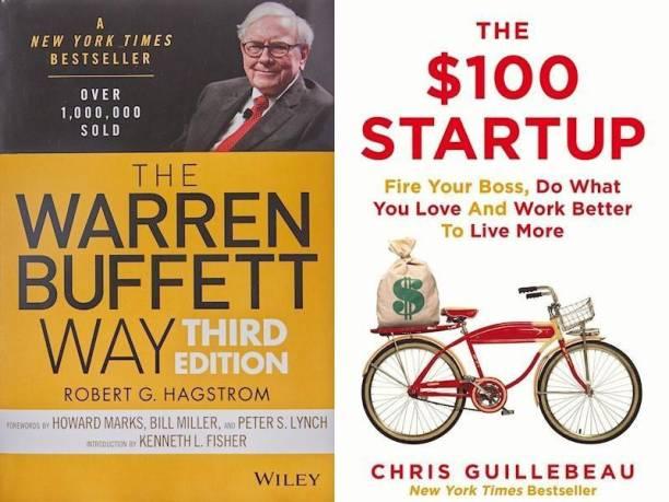 The Warren Buffett Way, $100 Startup (Set Of 2 Bestseller Books)
