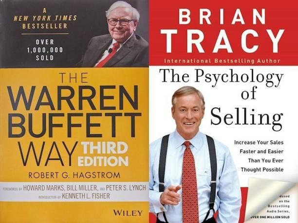 The Warren Buffett Way, Psychology Of Selling (Set Of 2 Bestseller Books)