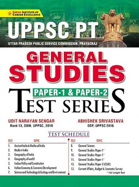Kiran UPPSC PT General Studies Paper 1 And Paper 2 Test Series (English Medium) (3317)