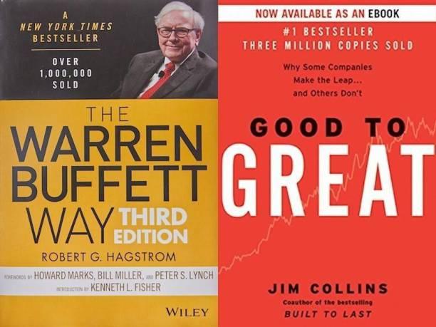 The Warren Buffett Way, Good To Great (Set Of 2 Bestseller Books)