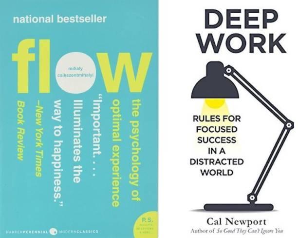 Flow, Deep Work (Set Of 2 Bestseller Books)