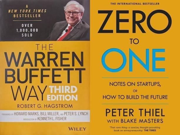 The Warren Buffett Way, Zero To One (Set Of 2 Bestseller Books)