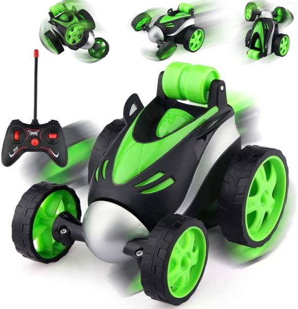 AMeflex Remote Control Car -, 360 Degree Rotation Racing Car, Rc Cars Flip and Roll, Stunt Car Toy for Kids (Note-Color AS PER Stock)