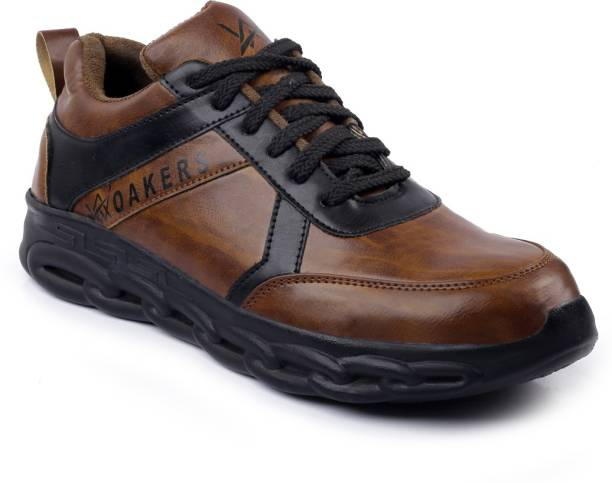 Woakers BRN-SAFTEY-9 Steel Toe Synthetic Leather Safety Shoe