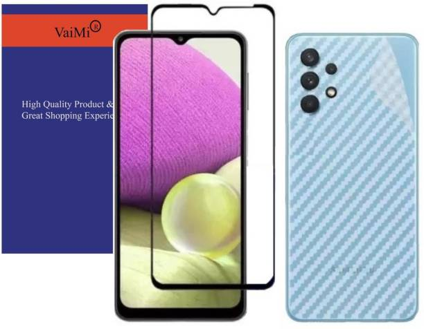 VaiMi Front and Back Tempered Glass for Samsung Galaxy A32