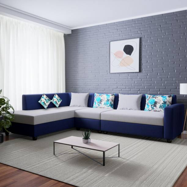 L Shaped Sofa: Buy L Shaped Corner Sofa Sets Designs Online at Best Prices - Flipkart