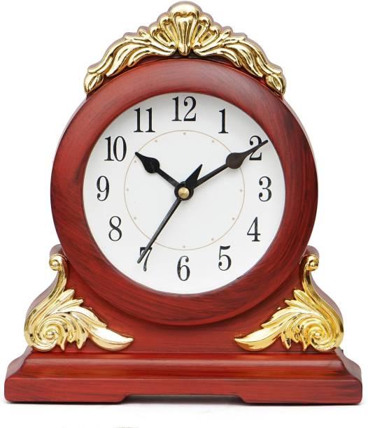 Crafting Arts Analog Brown Clock