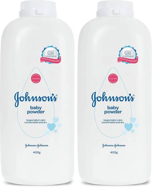 JOHNSON'S Baby Powder 400g *2 Pcs