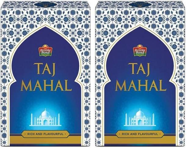 Taj Mahal MAHAL PREMIMUM TEA 500 GM X 2 PACK OF 2 Tea Box