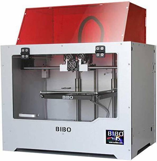 BIBO 2 3D Printer | Dual Extruder | Multicolor Printing | Laser Engraving | Sturdy Frame | WiFi Control | Touch Screen | Resume Printing | Build Size: 214x186x160mm 3D Printer
