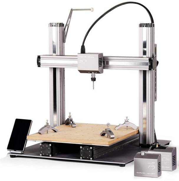 Snapmaker 2.0 (A350) - Modular 3-in-1 3D Printer - FDM 3D Printer, Laser Engraver/Cutter and CNC Carving/Milling Machine | Built Size: 320x350x330mm 3D Printer