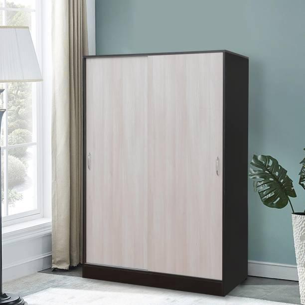 Forzza Carlton Sliding Engineered Wood 2 Door Wardrobe