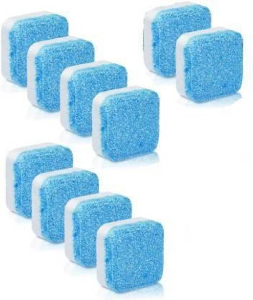 wecare 10 Pcs Washing Tablet For Cleaner | Washing Machine Descaler | Washing Machine Cleaning Tablet | 10 Pcs Detergent Powder 10 ml