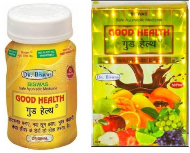 Good Health 100% natural ayurvedic tonic & capsule (combo pack of 1)