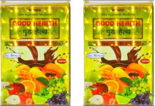 Good Health 100% NATURAL AYURVEDIC TONIC (COMBO PACK OF 2)