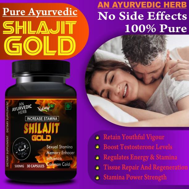 Natural Shilajit Gold For Promotes And Boost Your Sexual Energy And Power Of men & Women 100% Ayurvedic