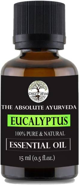 Sheer Veda Eucalyptus oil, 100% pure, Natural and undiluted for skin and hair