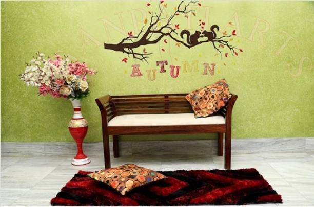 FURINNO Solid Wood 2 Seater
