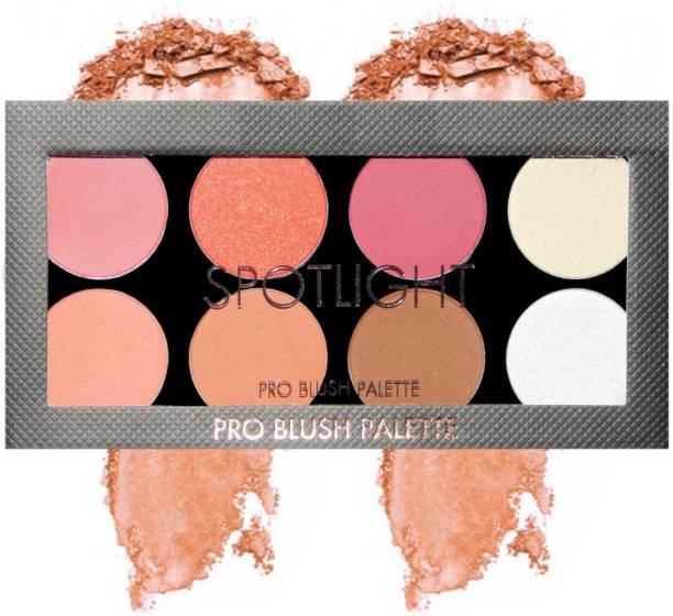 VARS LONDON Contour highlighter blusher combo palette | matte and shimmer blusher combo palette | contour palette | face highlighter bronzer palette | matte blusher combo palette | ultra blush palette