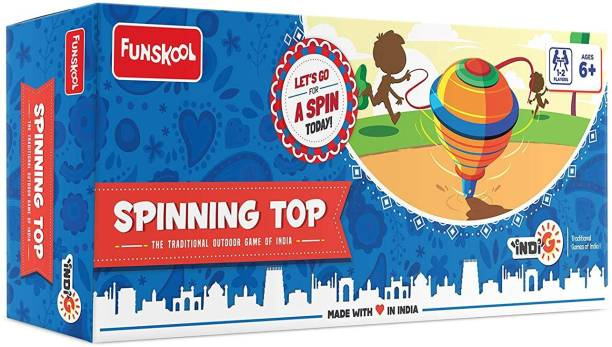 FUNSKOOL Spinning Top Party & Fun Games Board Game