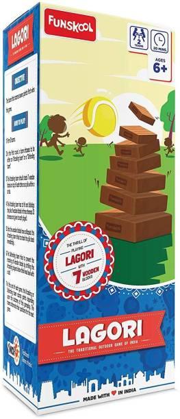 FUNSKOOL Lagori Party & Fun Games Board Game