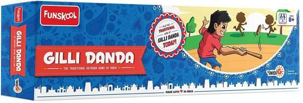 FUNSKOOL Gilli Danda Party & Fun Games Board Game