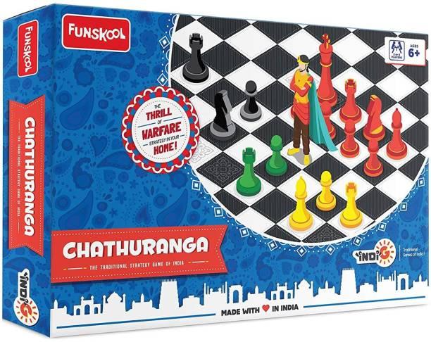 FUNSKOOL Chathuranga Educational Board Games Board Game