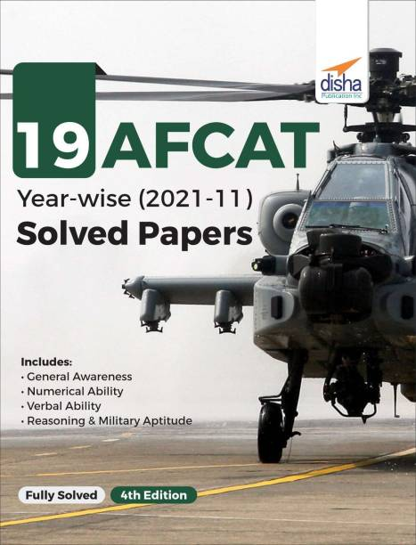 19 AFCAT Year-wise (2021 - 11) Solved Papers 4th Edition