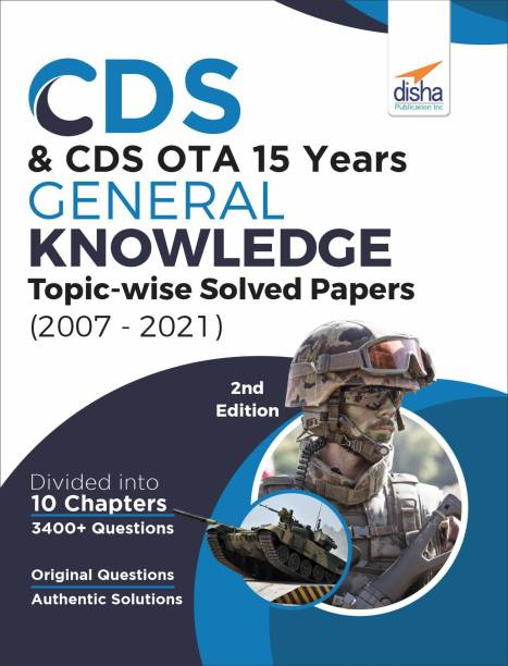 Cds & Cds Ota 15 Years General Knowledge Topic Wise Solved Papers
