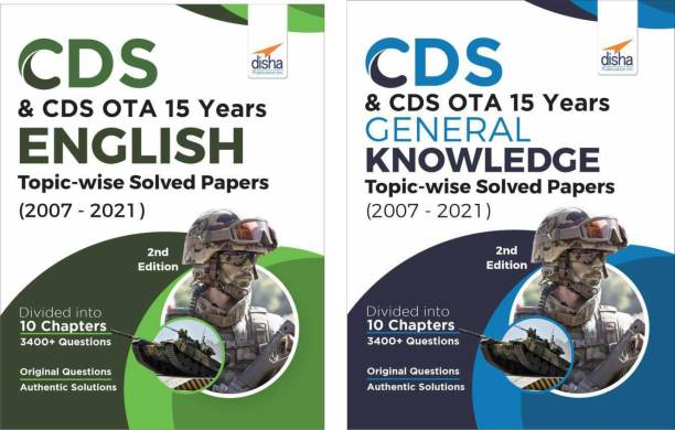 Cds & Cds Ota 15 Years English & General Knowledge Topic-Wise Solved Papers