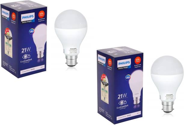 PHILIPS 21 W Round B22 LED Bulb