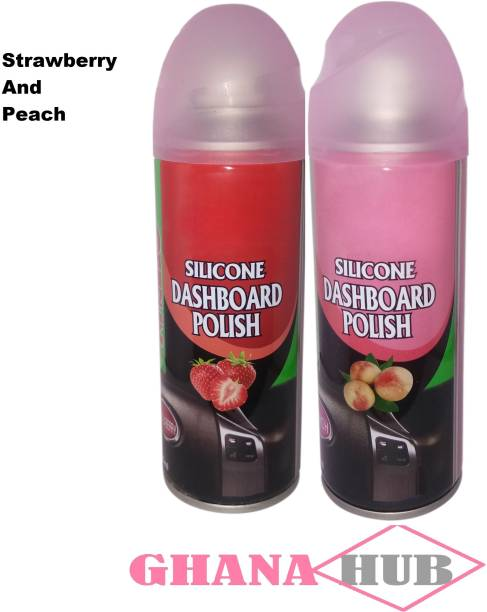 GHANA HUB Strawberry And Peach Fragrance Premium Cube 17 Vehicle Interior Cleaner