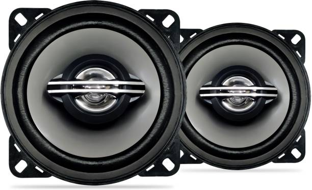 godryft Extra Bass S1 4'' 50W RMS 210W 2 Way Super Bass Series Coaxial Car Speaker, Set of 2 Coaxial Car Speaker