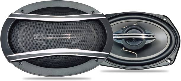 """godryft Extra Bass S3 6'' X 9"""" 110W RMS 550W 3 Way Super Bass Series Coaxial Car Speaker, Set of 2 Coaxial Car Speaker"""