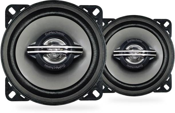 GoMechanic Ares A1 ARES A1 4'' 60W RMS 260W 2 Way Super BASS Series Coaxial Car Speaker, Set of 2 Coaxial Car Speaker