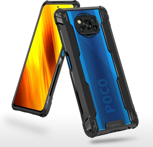 Fablue Back Cover for Poco X3