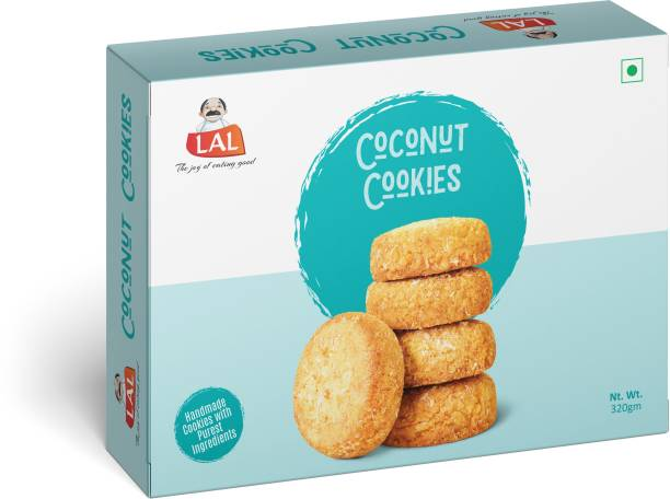 Lal Coconut Cookies 320g