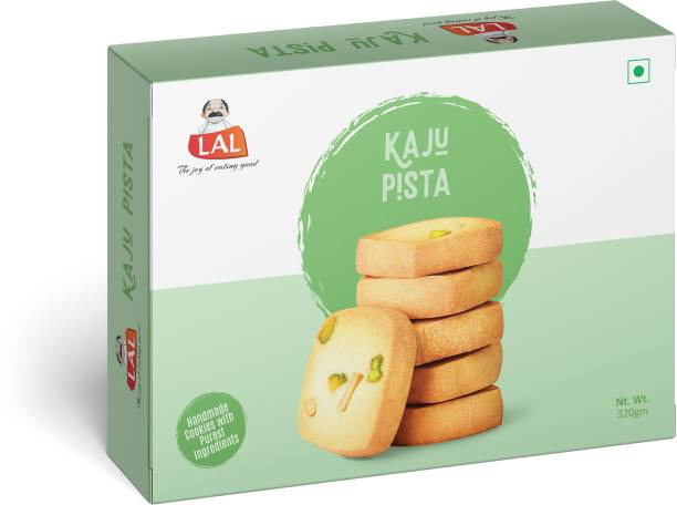 Lal Kaju Pista 320g Cookies