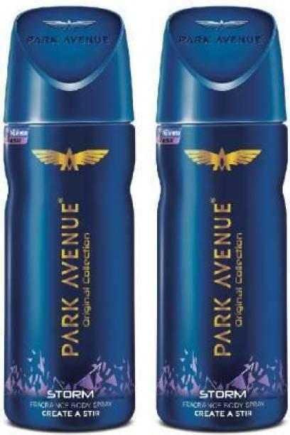 PARK AVENUE Original Deo Storm Body Spray  -  For Men & Women