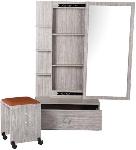 WOODNESS Engineered Wood Dressing Table