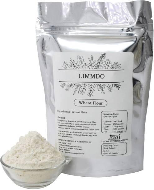 LIMMDO Natural healthy no preservative no mixter whole wheat atta Flour 5KG