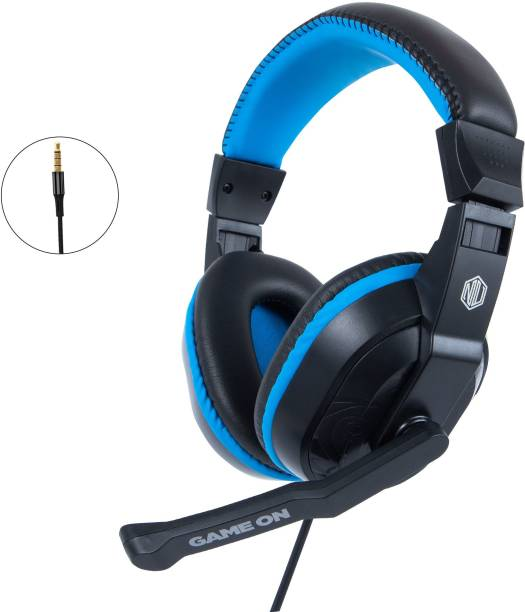 Nu Republic Viper Work N Play with Mic and Volume Control Wired Headset