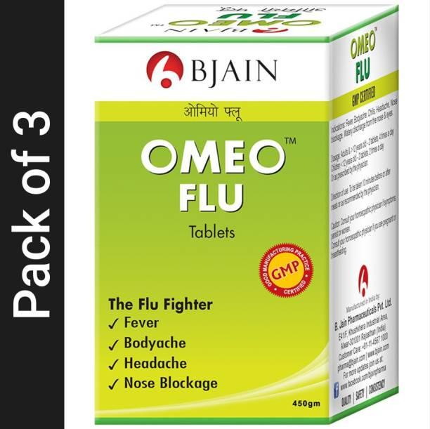 Bjain Omeo Flu Tablets