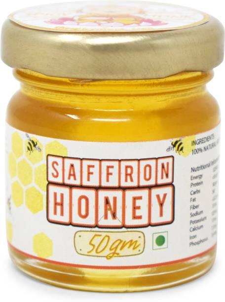 Spicy Monk Saffron Honey 50 gm