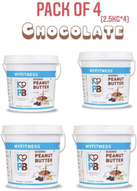 MYFITNESS Chocolate Smooth Combo-2.5kg (Pack of 4) 10000 g