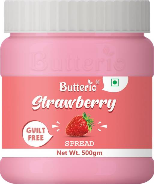Butterio STRAWBERRY SPREAD 500 GM 500 g