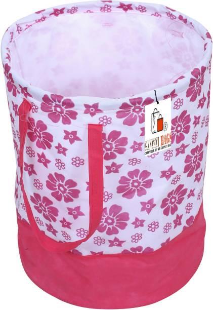Ganpati Bags 45 L Pink Laundry Basket