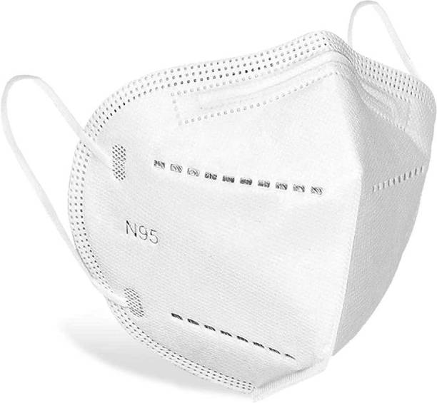 DALUCI N95 / KN95 FFP2 5-Layer (includes 2 Meltblown filters) Reusable, Anti - Pollution , Anti - Virus Breathable 100% CERTIFIED Face Mask 5 Layer For Women And Men Water Resistant, Reusable, Washable