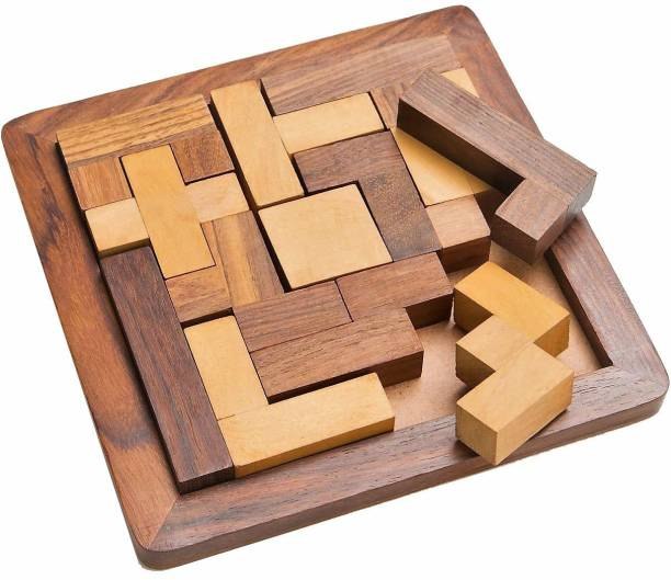 Craftland Square wooden puzzle