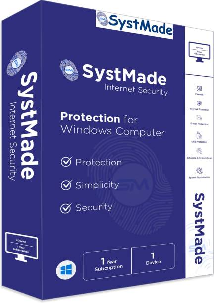 SystMade Internet Security 1 User 1 Year